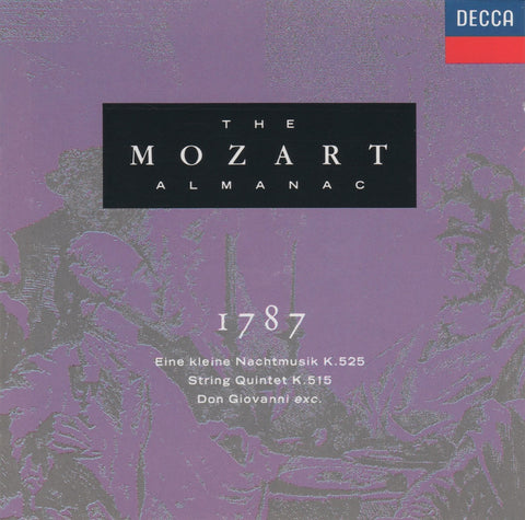 "CD - ""The Mozart Almanac 1787"" (Marriner, Solti, Aeolian Quartet, Et Al.) - Decca 430 126-2"