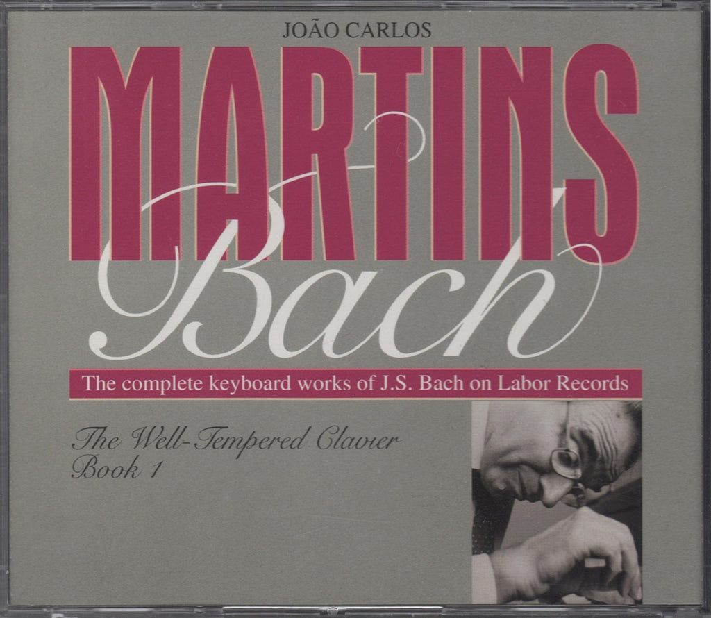 CD - Martins: Bach The Well-Tempered Clavier Book I - Labor LAB 7001-2 (2CD Set)