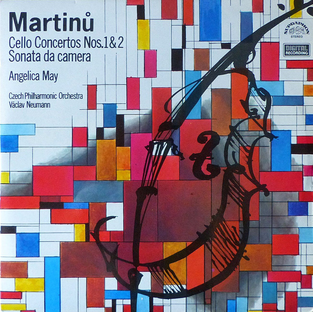 May: Martinu Cello Concertos 1 & 2, etc. - Supraphon 1110 3901-02 ZA (2LP set)