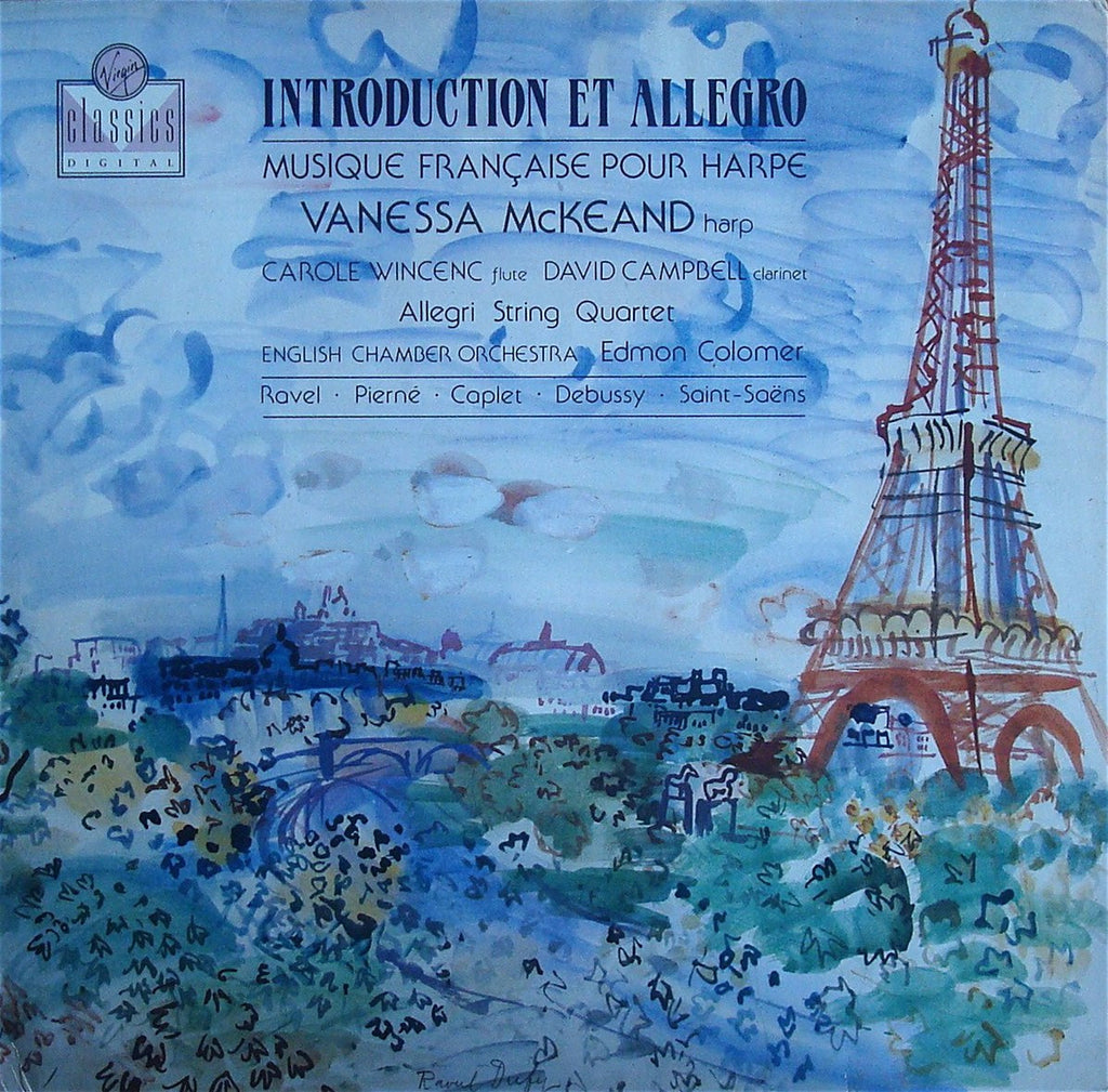 LP - McKeand: French Music For Harp - Virgin Classics VC 7 90721-1