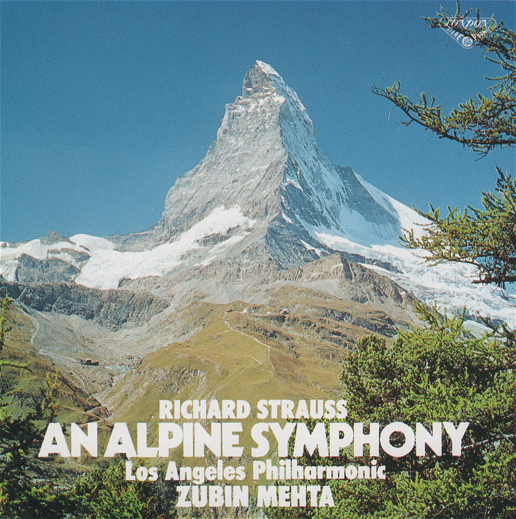 CD - Mehta/LAPO: R. Strauss An Alpine Symphony - King Records KICC 8291