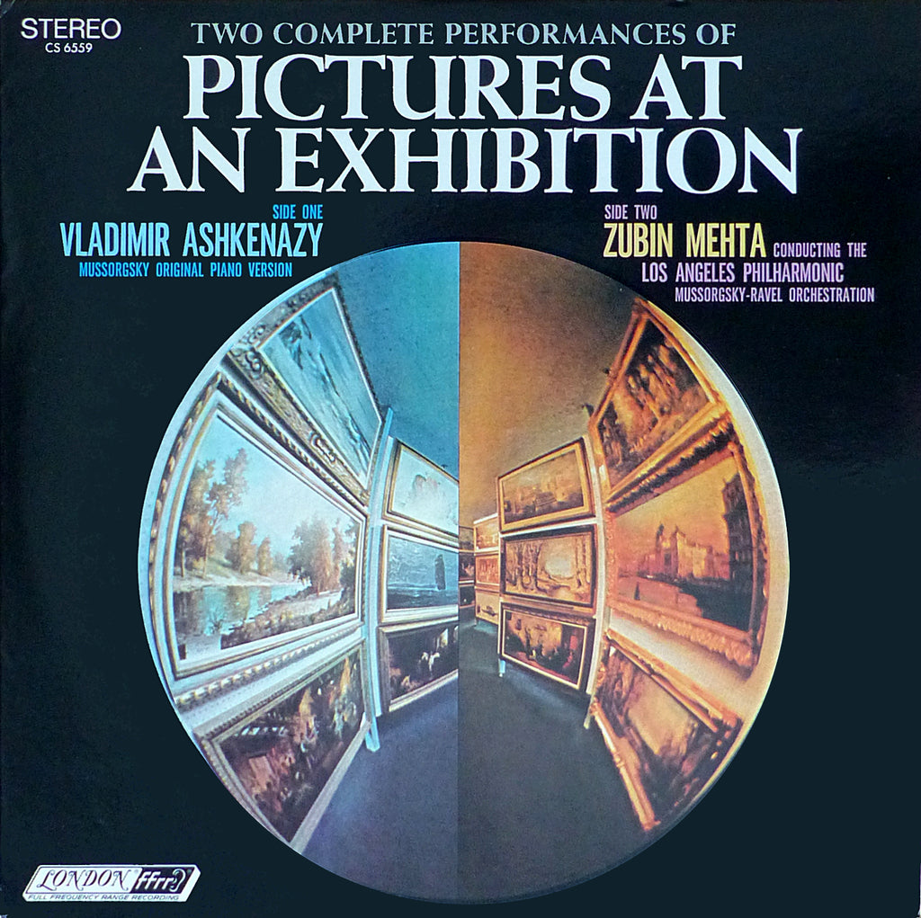 Ashkenazy / Mehta: Pictures at an Exhibition - London CS 6559