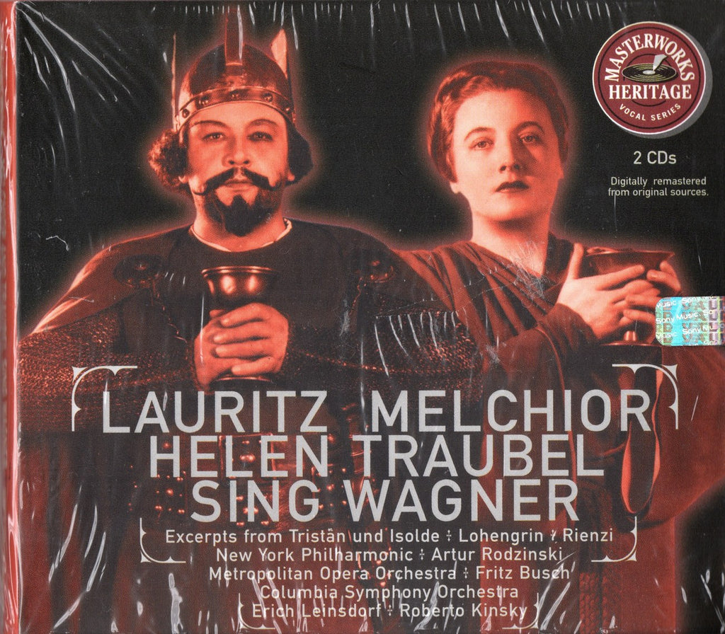 CD - Melchior & Traubel: Wagner Arias & Scenes - Sony MH2K 60896 (2CD Set) (sealed)