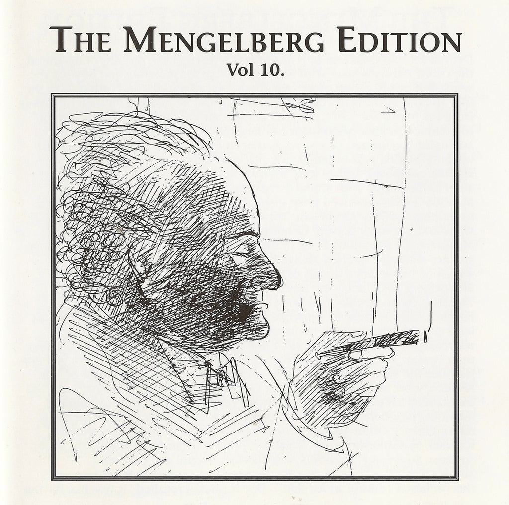 CD - Mengelberg Ed. X: Dvorak Cello Cto (Gendron) + Mahler - Archive Documents ADCD 116