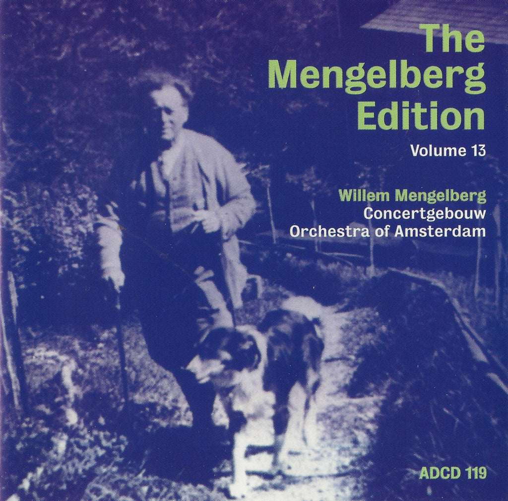 CD - Mengelberg Ed. XIII: Dopper Sym 7, Ciaconna Gotica, Etc. - Archive Documents ADCD 119