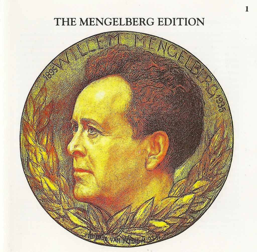 CD - Mengelberg Ed. I: Brahms Sym No. 3, Liszt Les Preludes, Etc. - Archive Documents ADCD 107