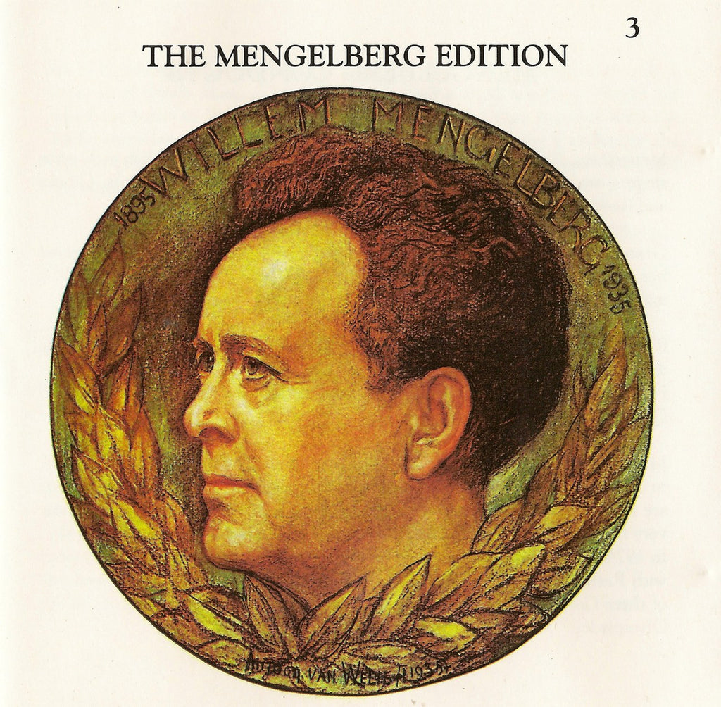 CD - Mengelberg Ed. III: Arias (Mozart, Schubert, Puccini + Interviews) - Archive Documents ADCD 109
