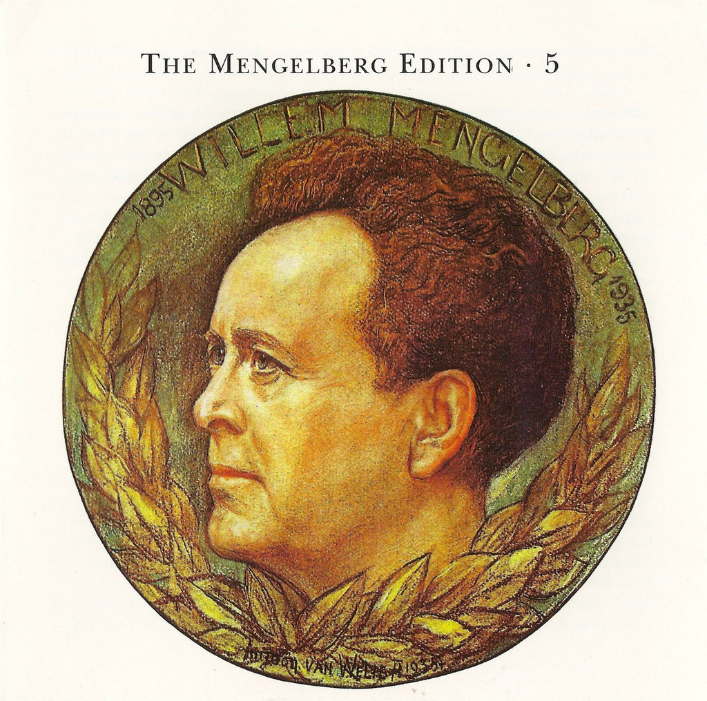 CD - Mengelberg Ed. V: Beethoven 7th (Berlin RSO) + Mendelssohn - Archive Documents ADCD 111