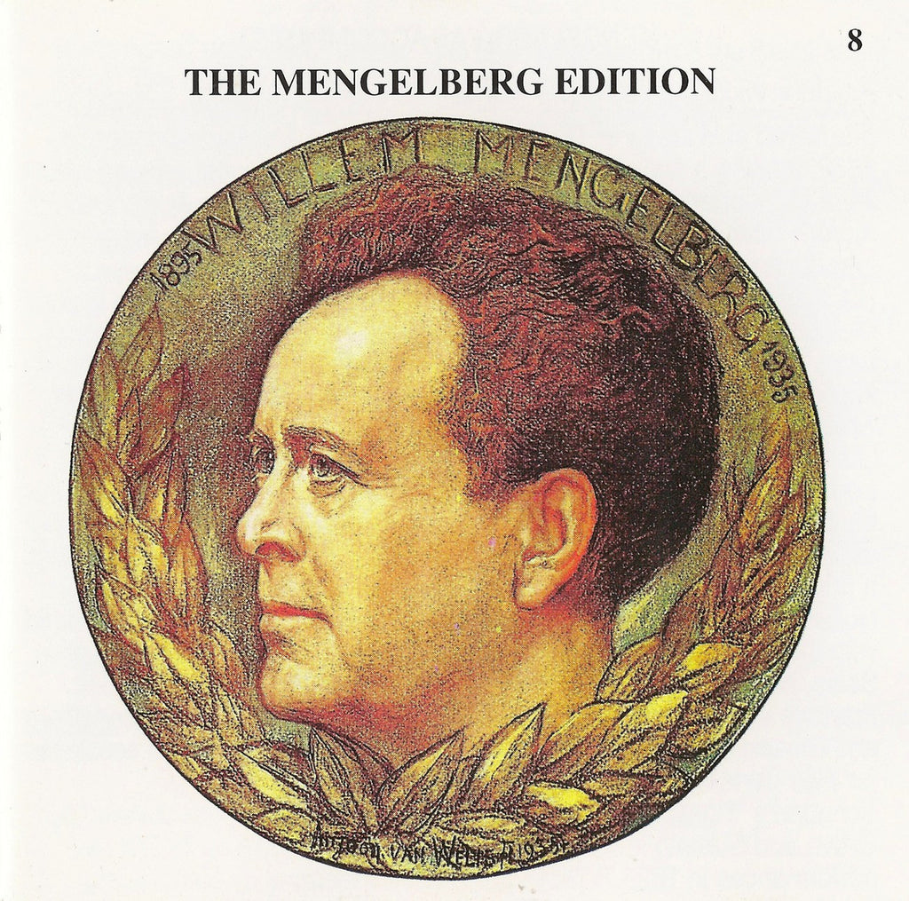 CD - Mengelberg Ed. VIII: Concertos (Chopin, Liszt, Franck), Etc. - Archive Document ADCD 114