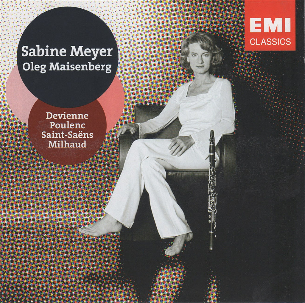 CD - Sabine Meyer: French Clarinet Sonatas - EMI 0946 3 79787 2 6 (DDD)
