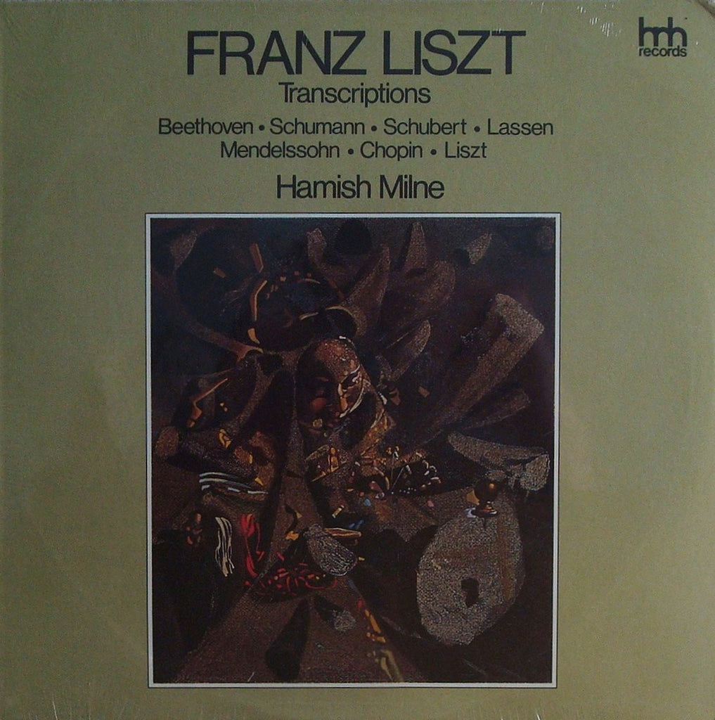 LP - Milne: Liszt Transcriptions Of Works By Beethoven, Chopin, Etc. - Hnh Records HNH 4068 (sealed)