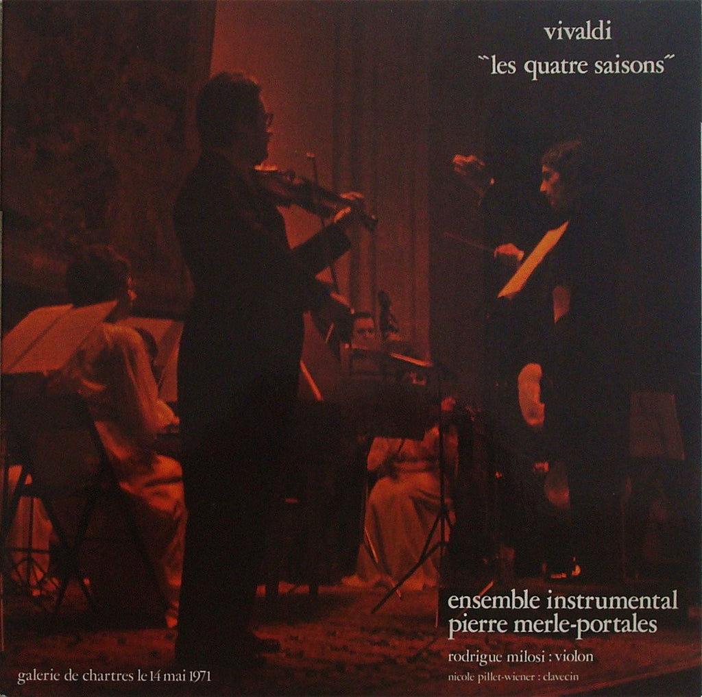 "LP - Rodrigue Milosi: Vivaldi 4 Seasons ""live"" - BICROP PM-P 1"