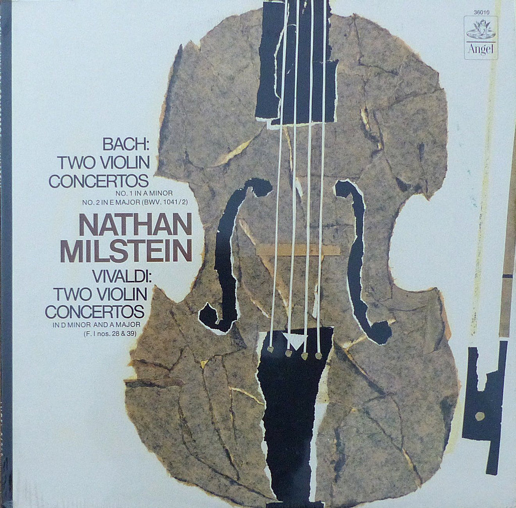 Milstein: Bach & Vivaldi Violin Concertos - Angel 36010 (sealed)