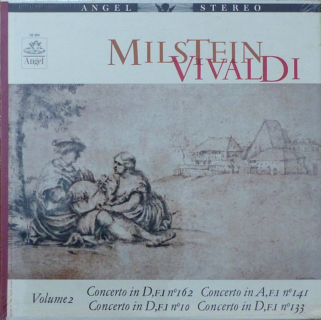 Milstein: Vivaldi 4 Concertos (Vol. 2) - Angel 36 004 (sealed)