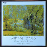 Joan Moll: piano works of Andres Gaos - Etnos 02-A-XII