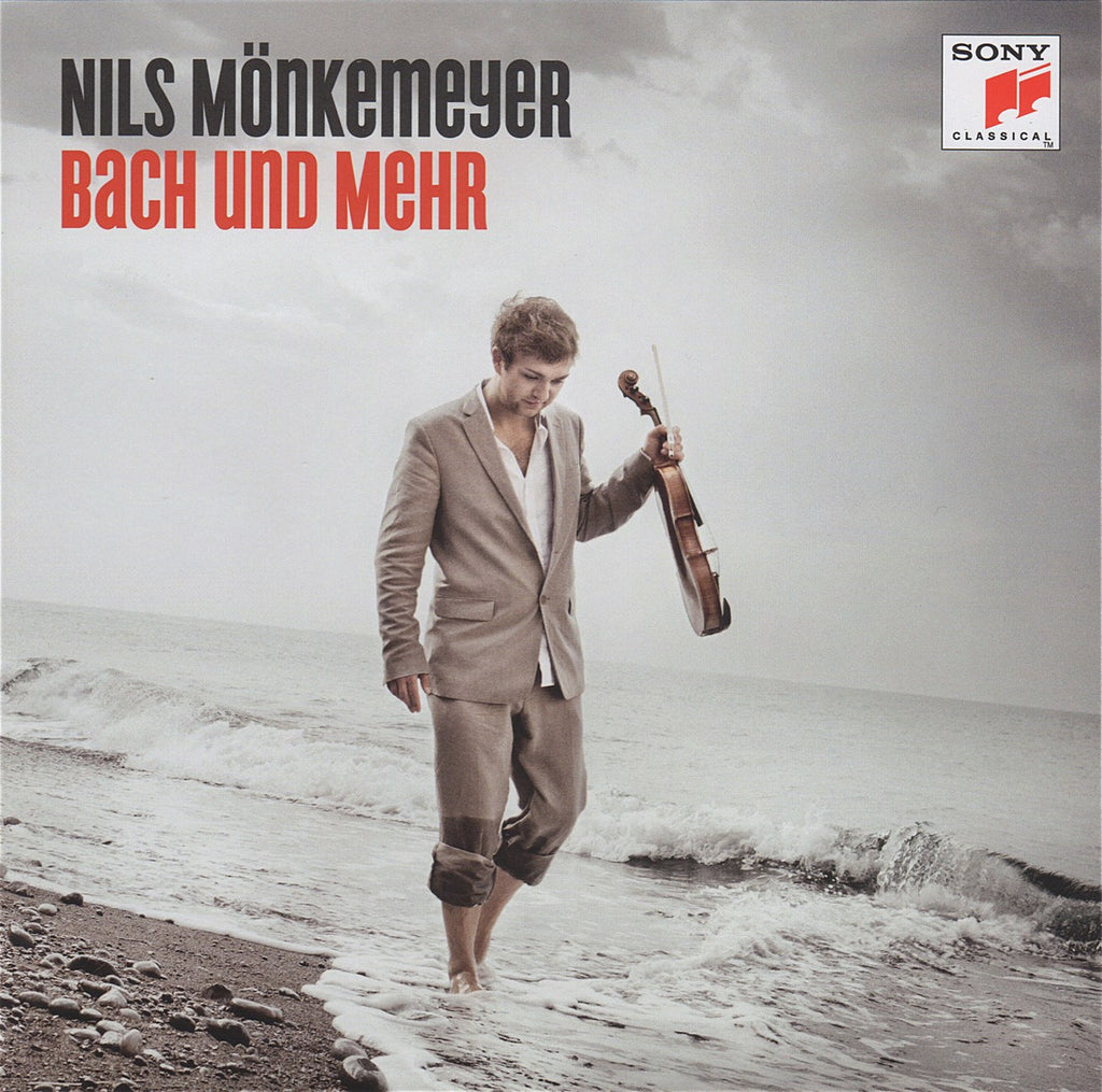CD - Monkemeyer: Bach 3 Cello Suites (arr. For Viola) + Bonus Disc - Sony 88765434782 (DDD)