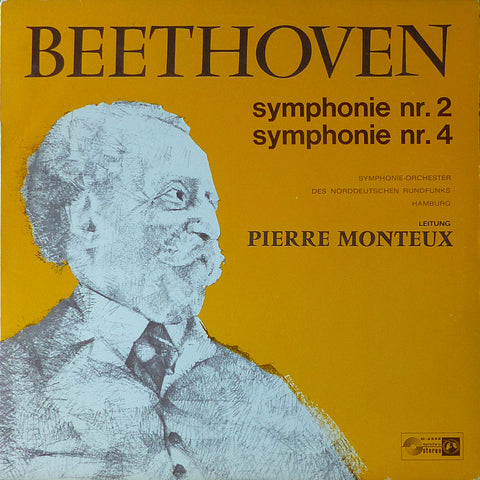 Monteux/NDR SO: Beethoven Symphonies 2 & 4 - Concert Hall M-2332