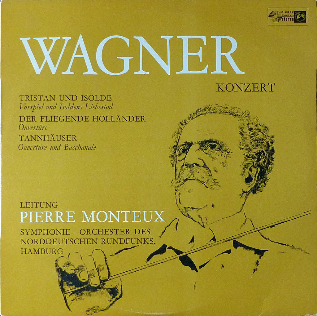 Monteux/NDR SO: Wagner Overtures & Preludes - Concert Hall M-2362