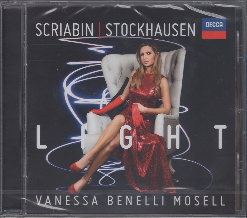 CD - Benelli Mosell: Stockhausen & Scriabin Piano Works - Decca 481  2491 (sealed)