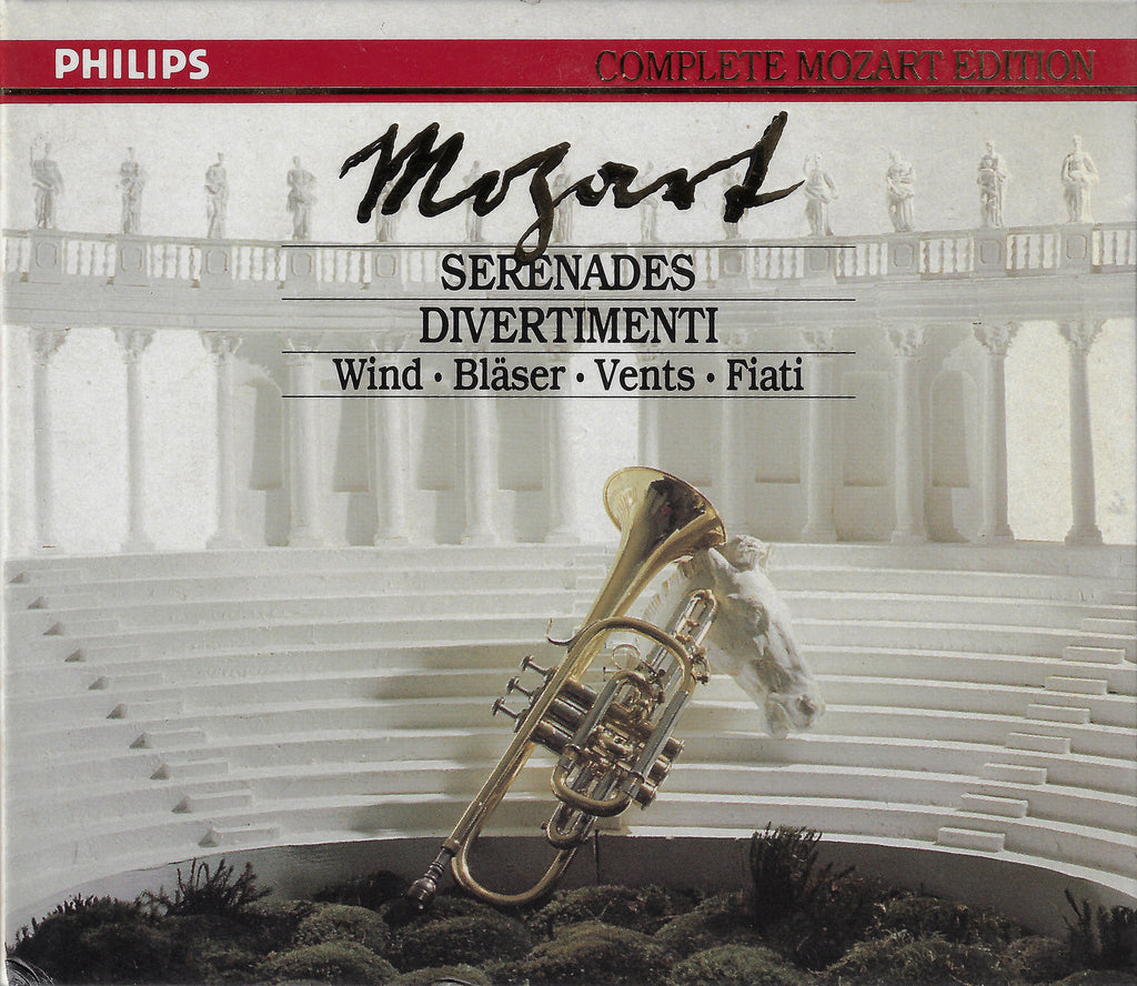 Mozart Edition Vol 5: Wind Serenades - Philips 422 505-2 (6CD set)