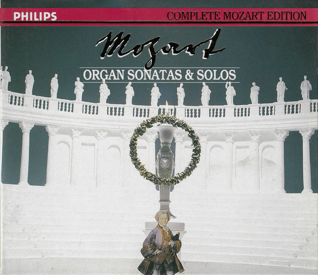 Mozart Edition Vol 21: Organ Sonatas (Chorzempa) - Philips 422 521-2 (2CD set)