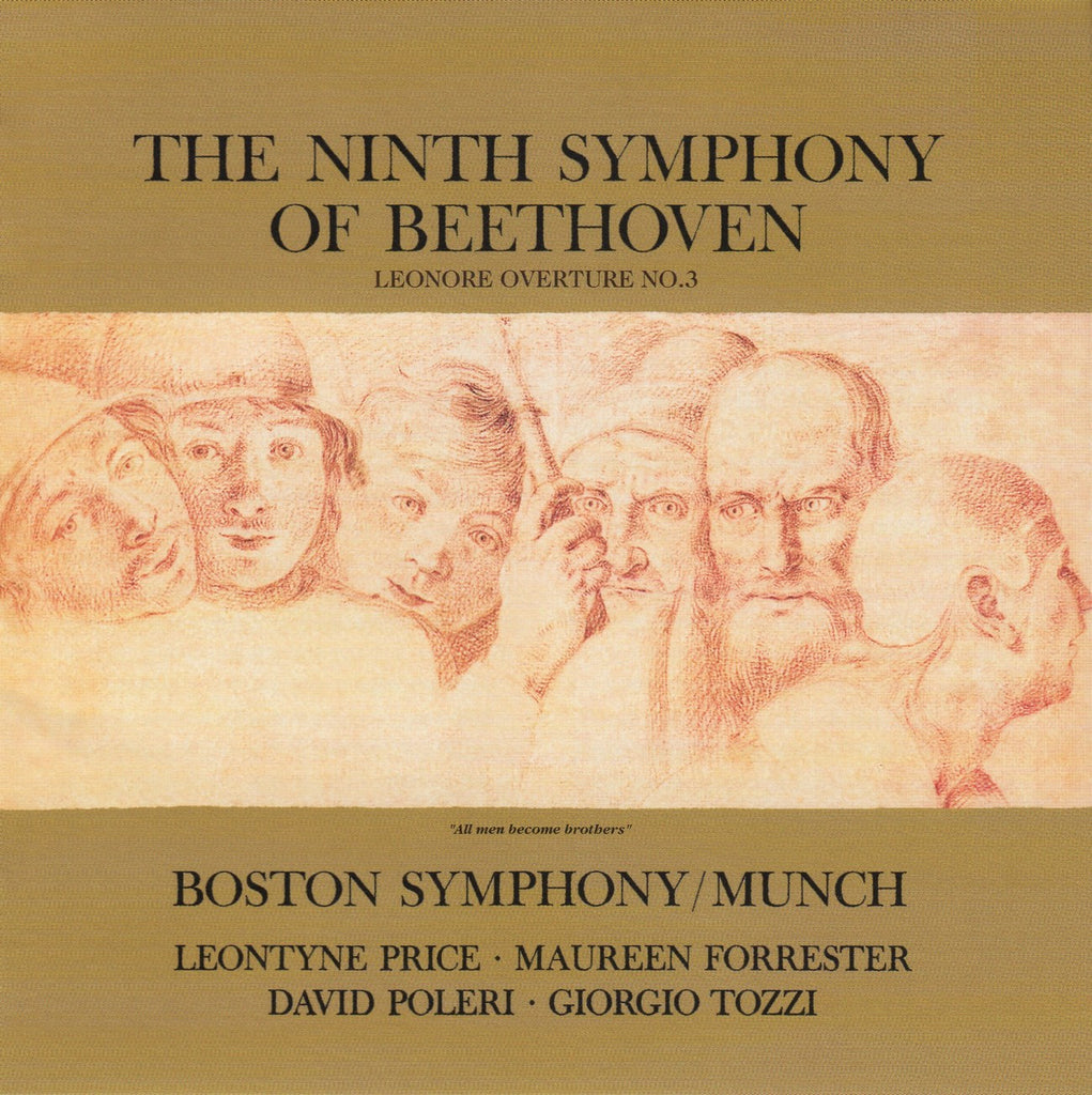 "CD - Munch: Beethoven Symphony No. 9 Op. 125 ""Choral"" - RCA Japan BVCC-38428"