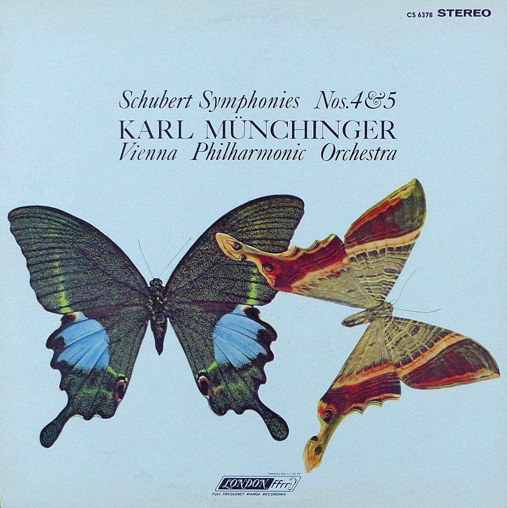 Münchinger/VPO: Schubert Symphonies 4 & 5 - London CS 6378