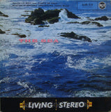 LP - Munch/BSO: Debussy La Mer / Ibert Escales - RCA 640.511 (red/silver Stereo)