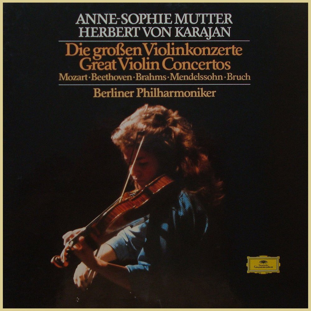 LP - Mutter: The Great Violin Concertos (Brahms, Beethoven, Et Al.) – DG 2740 282 (4LP Box)