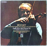 Oistrakh: Mozart works for violin & orchestra - EMI C 191-02323/26