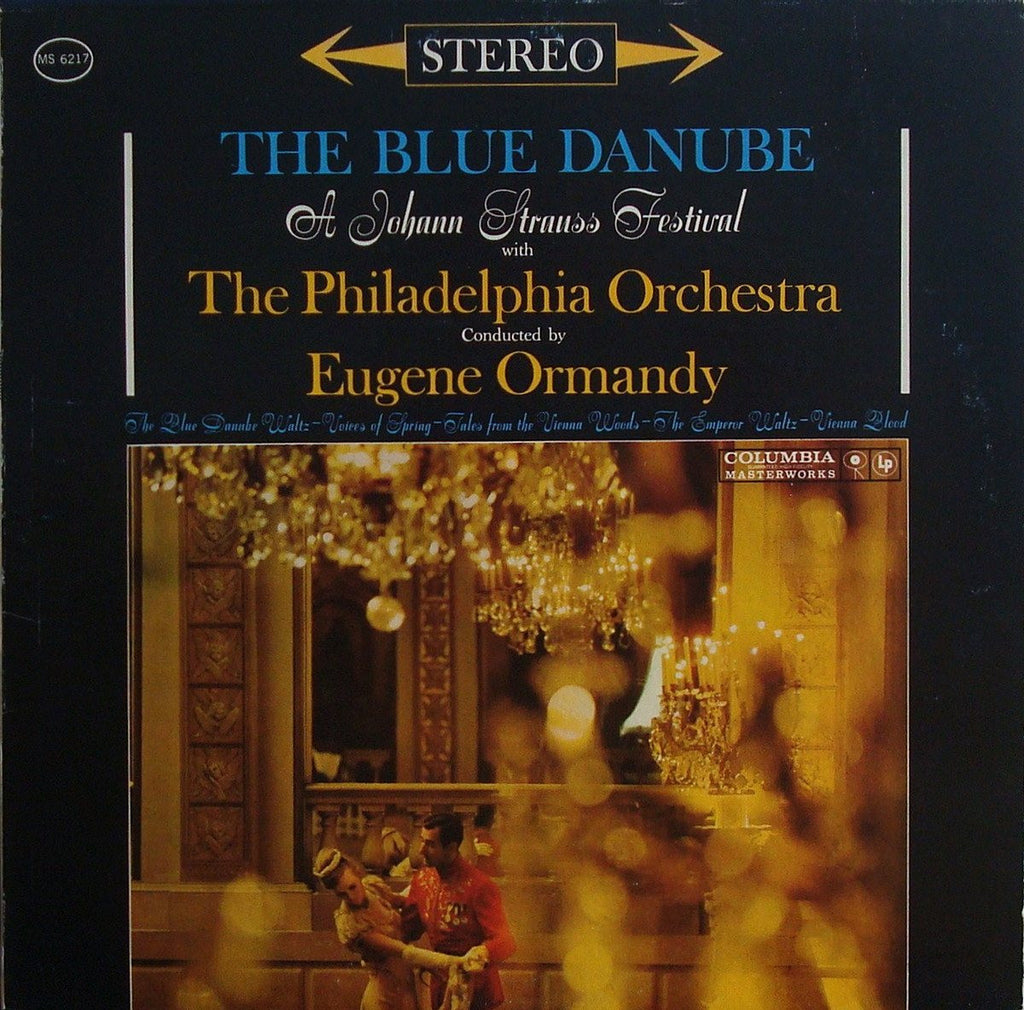 "LP - Ormandy: ""The Blue Danube"" (+ Emperor Waltz, Vienna Blood, Etc.) - Columbia MS 6217"