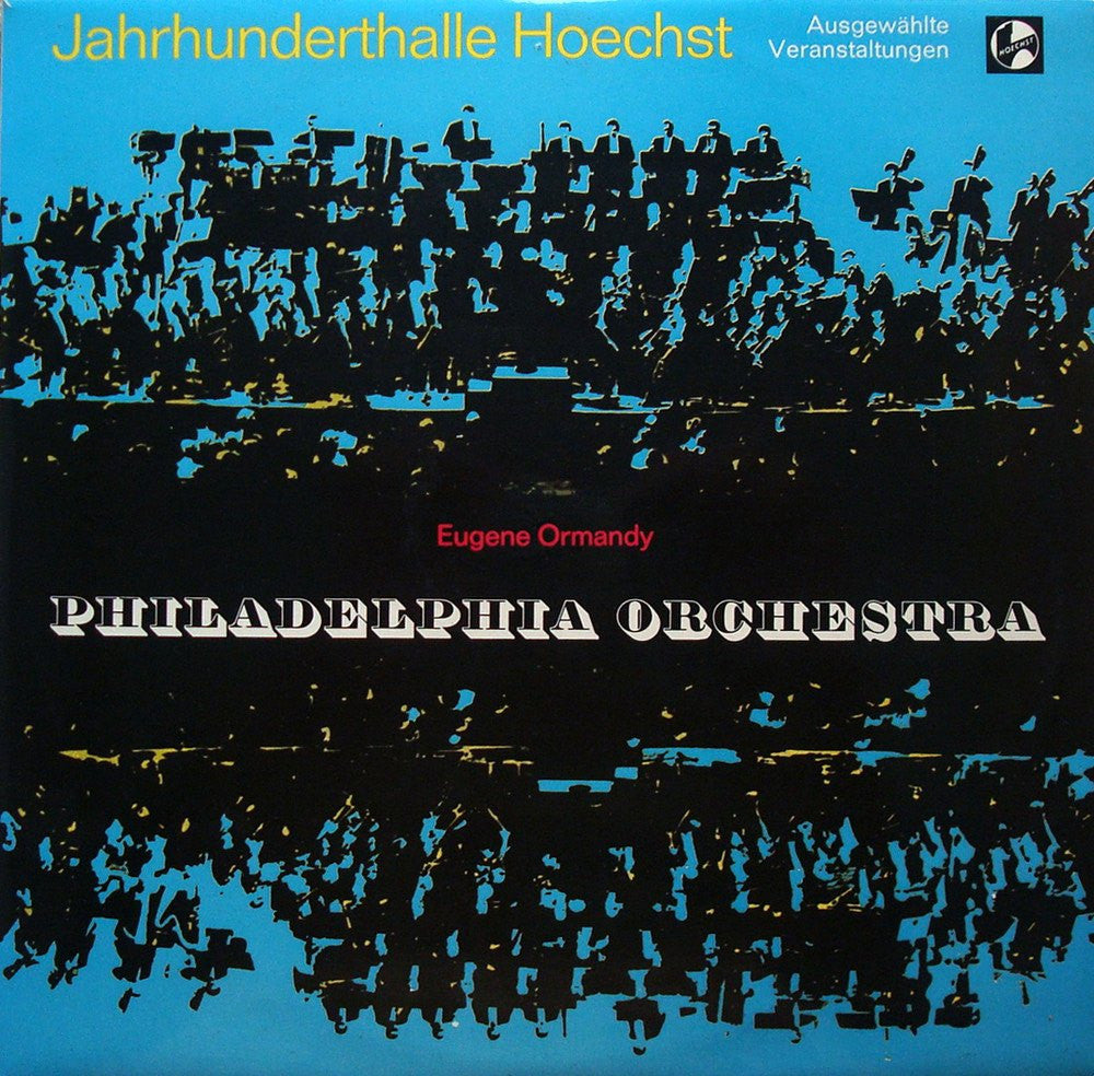 LP - Ormandy/Philadelphia Orchestra: 1970 European Tour Album - German CBS 0654566 S
