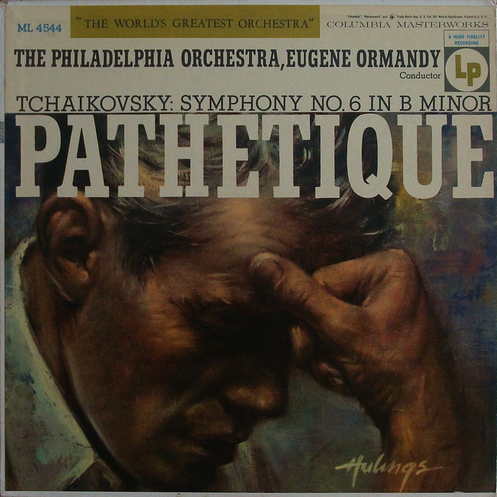 "LP - Ormandy: Tchaikovsky Symphony No. 6 ""Pathetique"" (rec. 1952) - Columbia ML 4544"