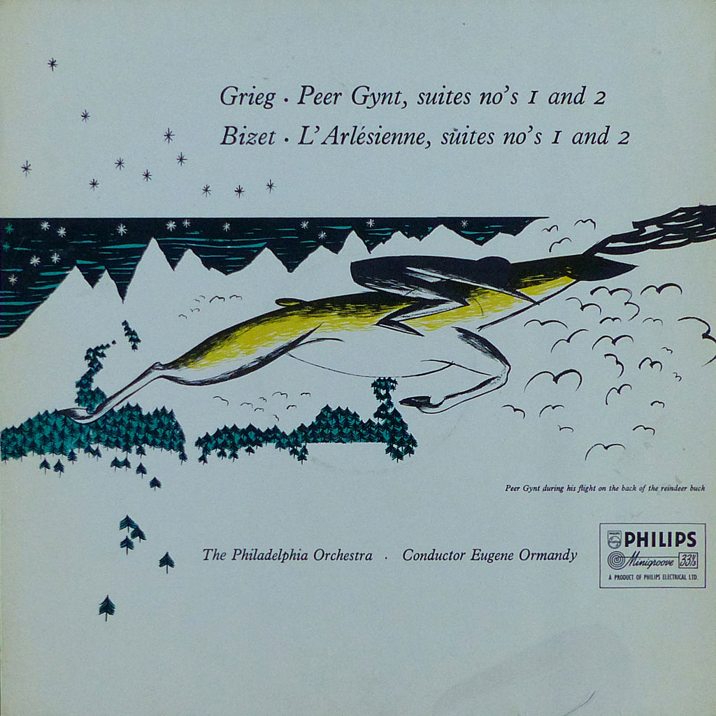 Ormandy: Grieg Peer Gynt Suites 1 & 2 + Bizet - Philips ABL 3171