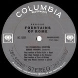 LP - Ormandy/Philadelphia Orchestra: Pines & Fountains Of Rome (rec. 1957/58) - Columbia MS 6001