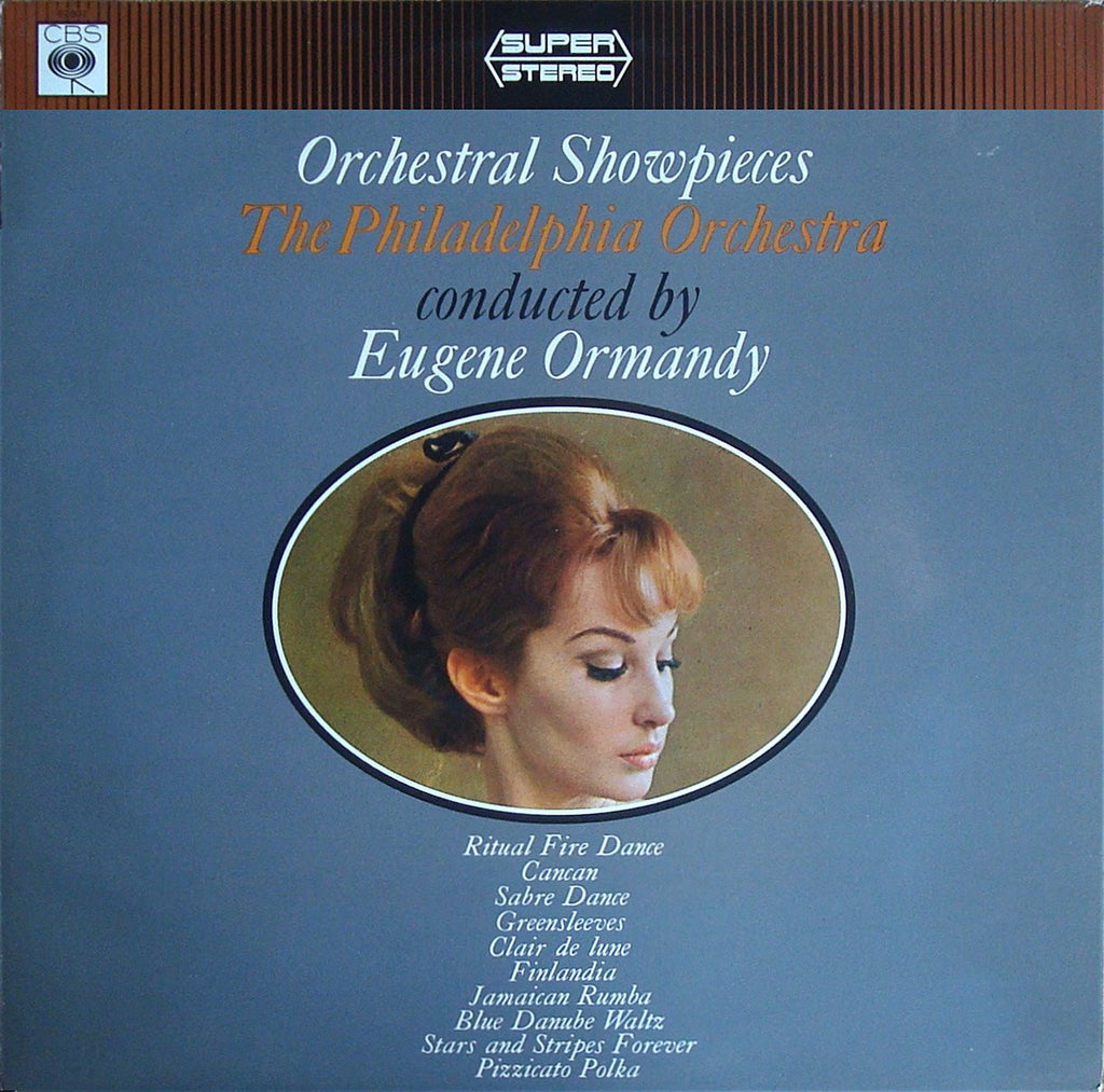 LP - Ormandy: Orchestral Showpieces - German CBS SS 62907