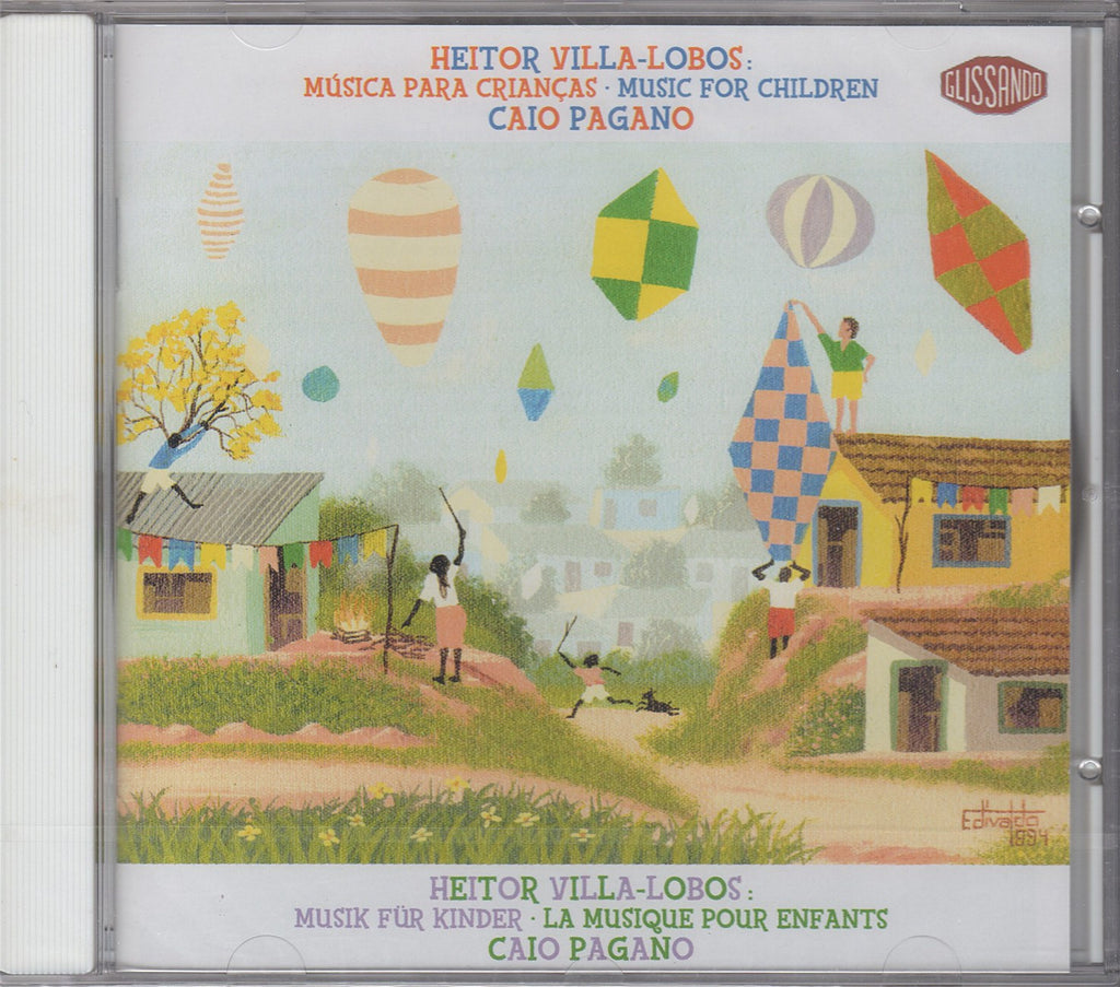 CD - Pagano: Piano Music For Children - Glissando 779 009-2 (sealed)