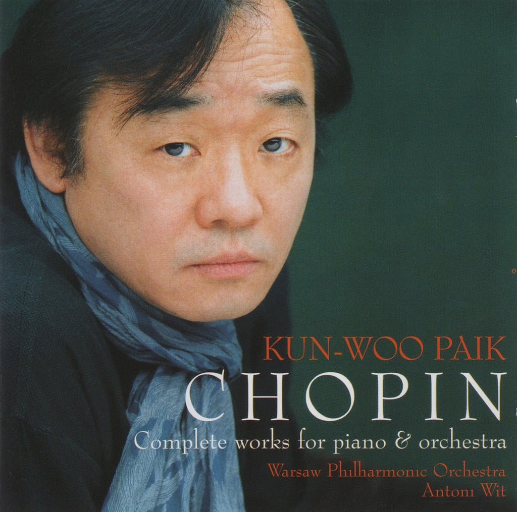 CD - Kun Woo Paik: Chopin Works For Piano & Orchestra - Decca 475 169-2 (DDD) (2CD Set)