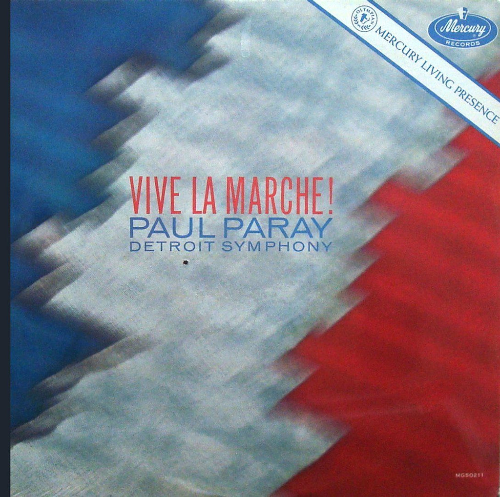 "Paray: ""Vive la Marche!"" (Chabrier, etc.) - Mercury MG 50211 (cut-out, sealed)"