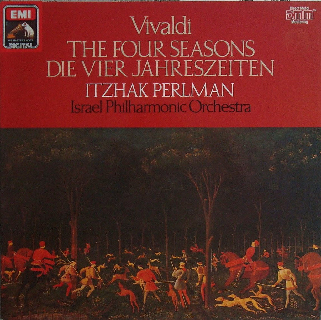 LP - Perlman/Israel PO: Vivaldi The Four Seasons - EMI 27 0023 1 (DDD)