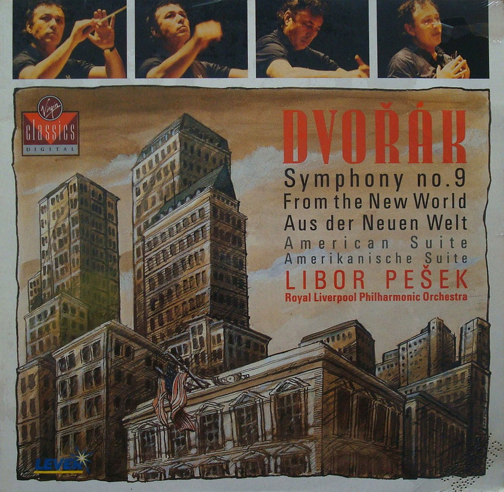 LP - Pesek: Dvorak Sym No. 9 + American Suite - Virgin Classics VC 7 90723-1 (sealed)