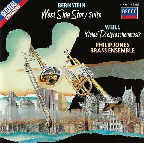 Philips Jones Brass Ensemble: West Side Story, etc. - Decca 417 354-2