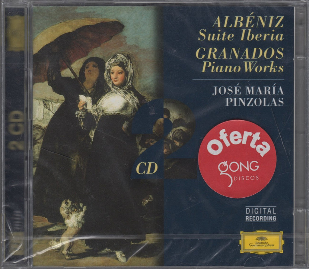 CD - Pinzolas: Albeniz Iberia + Granados Allegro De Concierto, Etc. - DG 459 430-2 (2CD Set) (sealed)