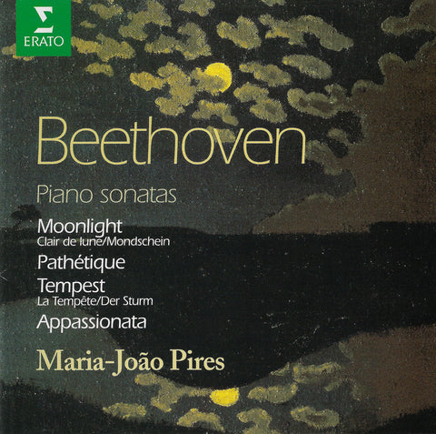 Pires: Moonlight, Appassionata Sonatas, etc. - Erato 0630-10707-2