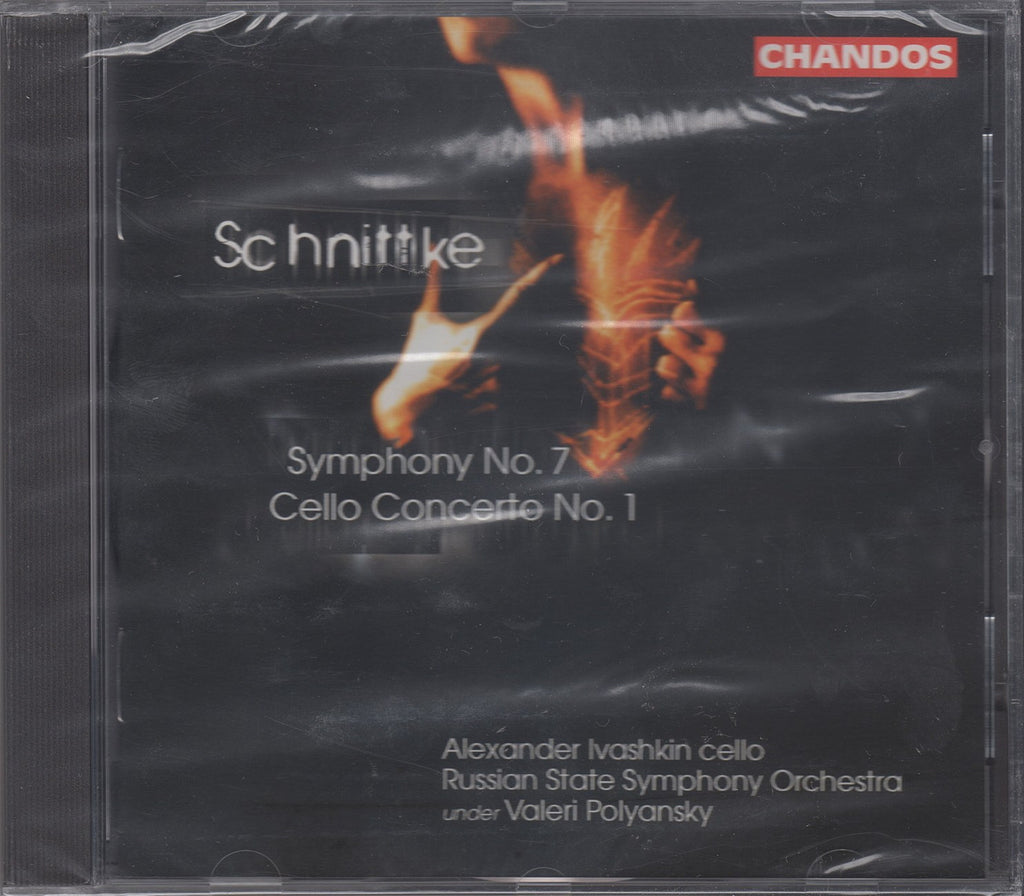 CD - Polyansky: Schnittke Sym No. 7 + Cello Cto No. 1 - Chandos 9852 (sealed)