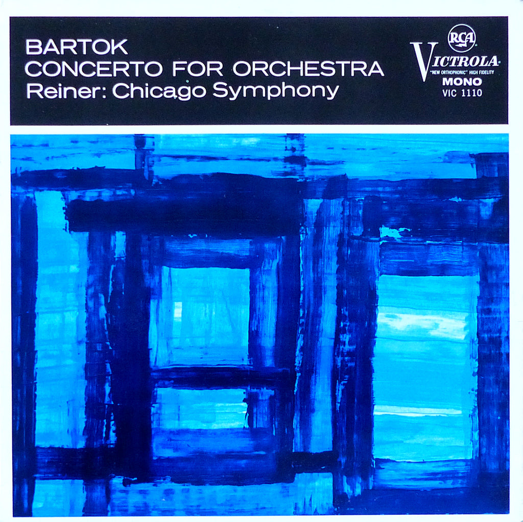 Reiner/CSO: Bartok Concerto for Orchestra - RCA VIC-1110 (UK)