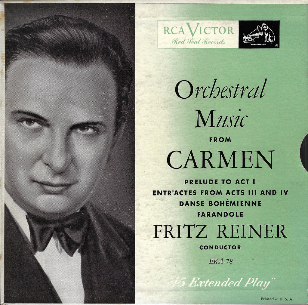 "Reiner: Orchestral Music from Carmen - RCA ERA-78 (7"" EP)"