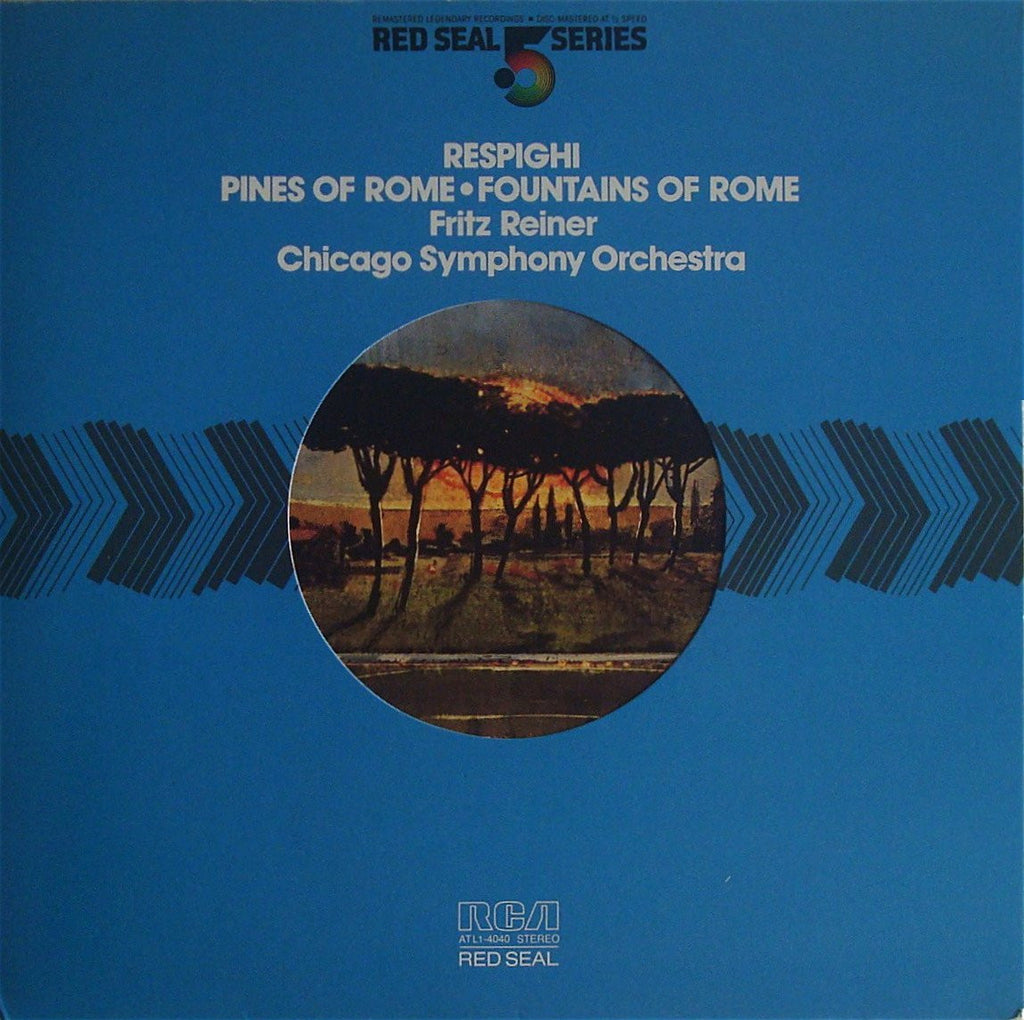 LP - Reiner: Respighi Pines & Fountains Of Rome - RCA 5 Series ATL1-4040