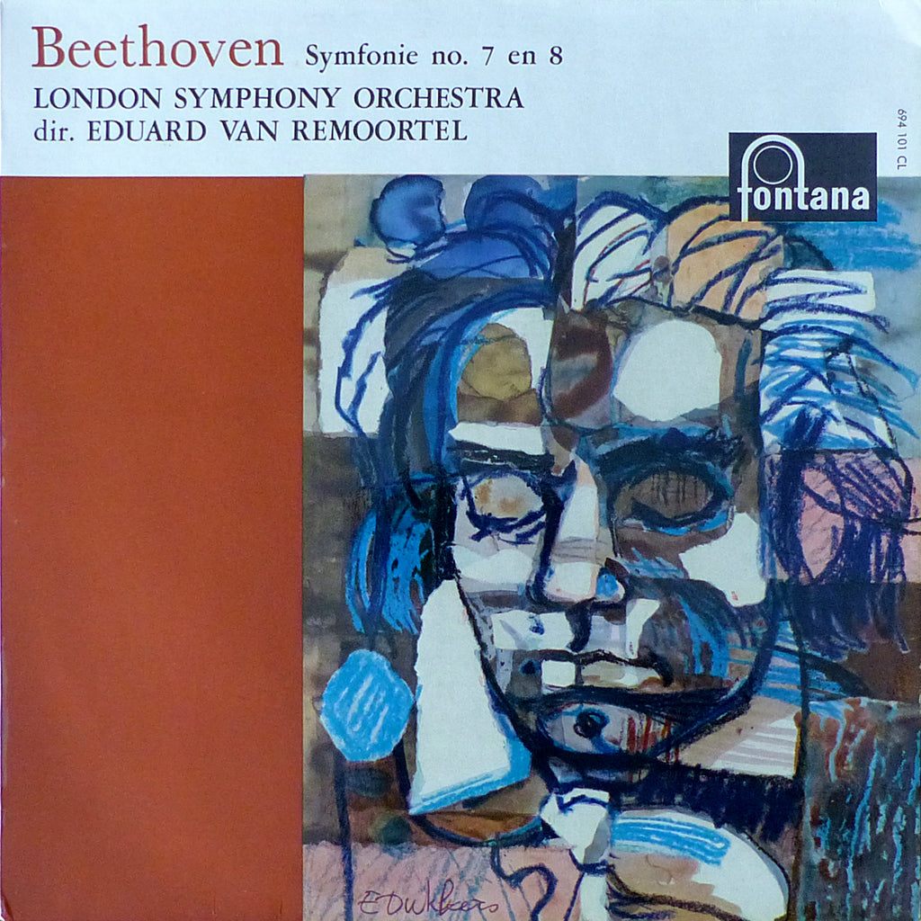 Remoortel/LSO: Beethoven Symphonies 7 & 8 - Fontana 694 101 CL