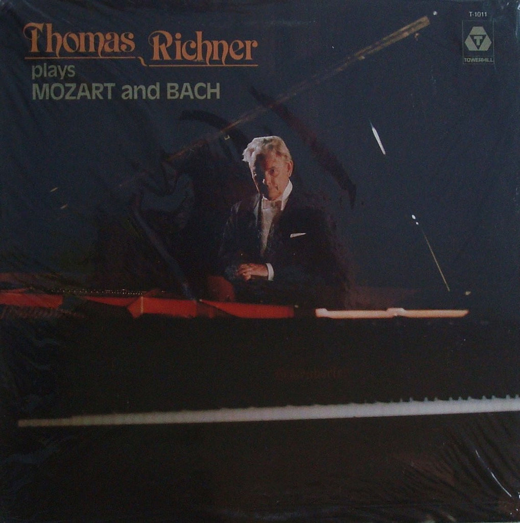 LP - Thomas Richner Plays Mozart & Bach Transcriptions - Towerhill T-1011 (sealed)